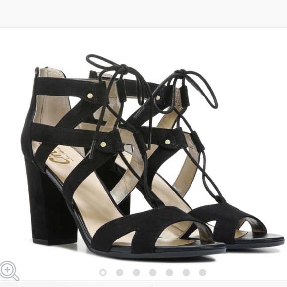 3a15a788cb97 Sam Edelman lace up heel